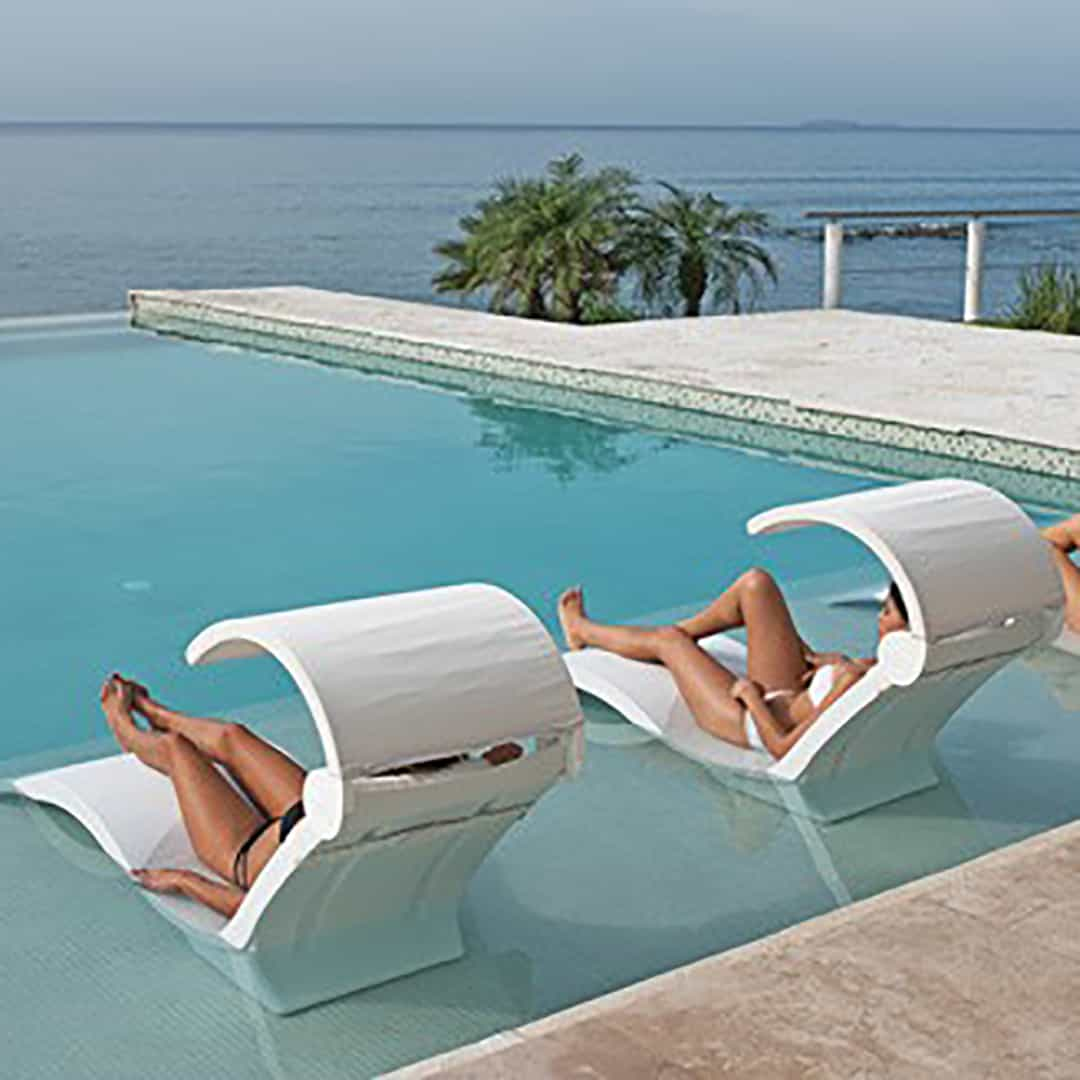 Chairs For Pool Ledge Lounger Chaise Deep Ultra Modern Pool And Patio