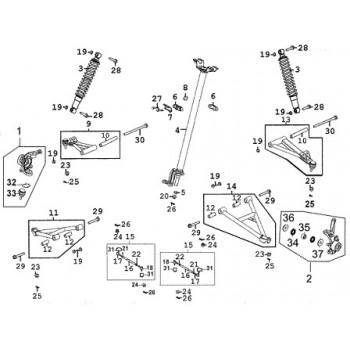 Suzuki Vinson 500 Wiring Diagram Suzuki Vinson ATV Plastic