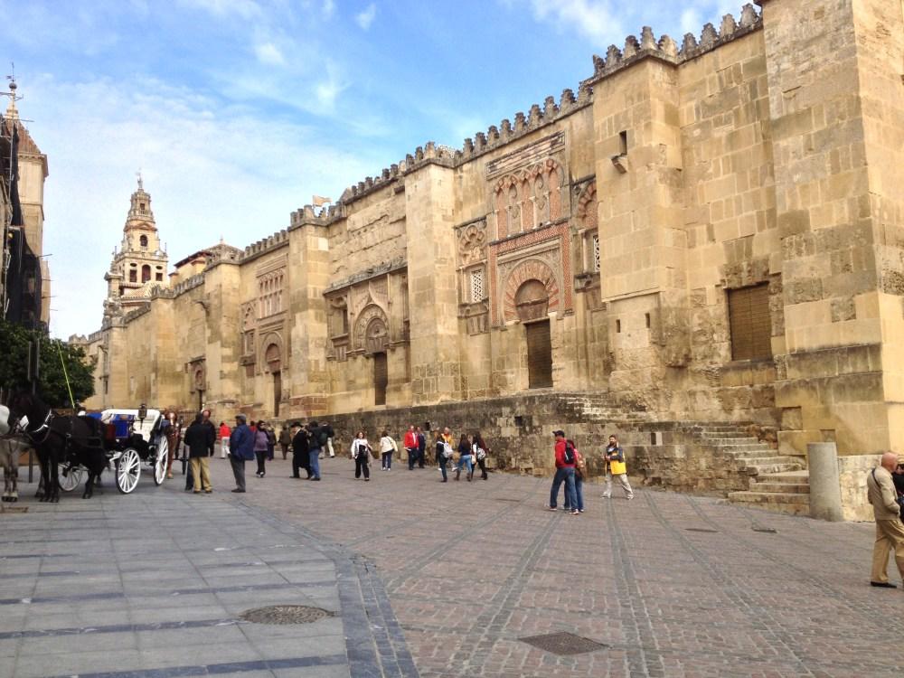 Mesquita-Catedral de Córdoba vista de fora