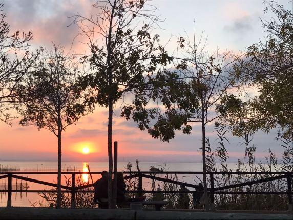 Pôr do sol em Albufera