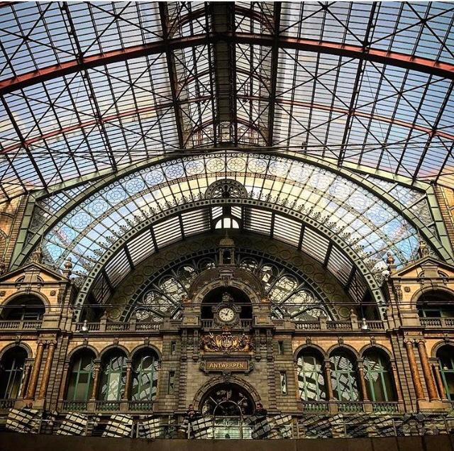 Estação Central da Antuérpia: a mais linda que já vi