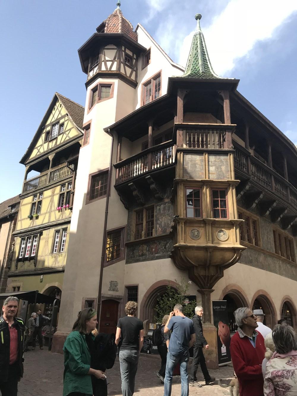 Maison Pfister, uma das construções mais famosas de Colmar