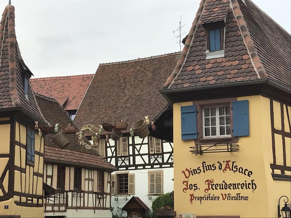 Eguisheim, na Alsácia