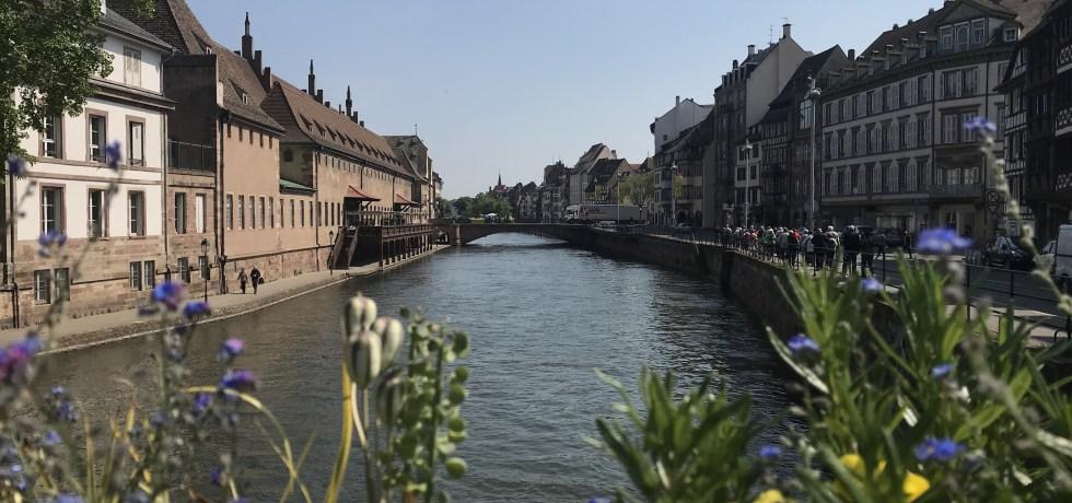 Os canais de Strasbourg