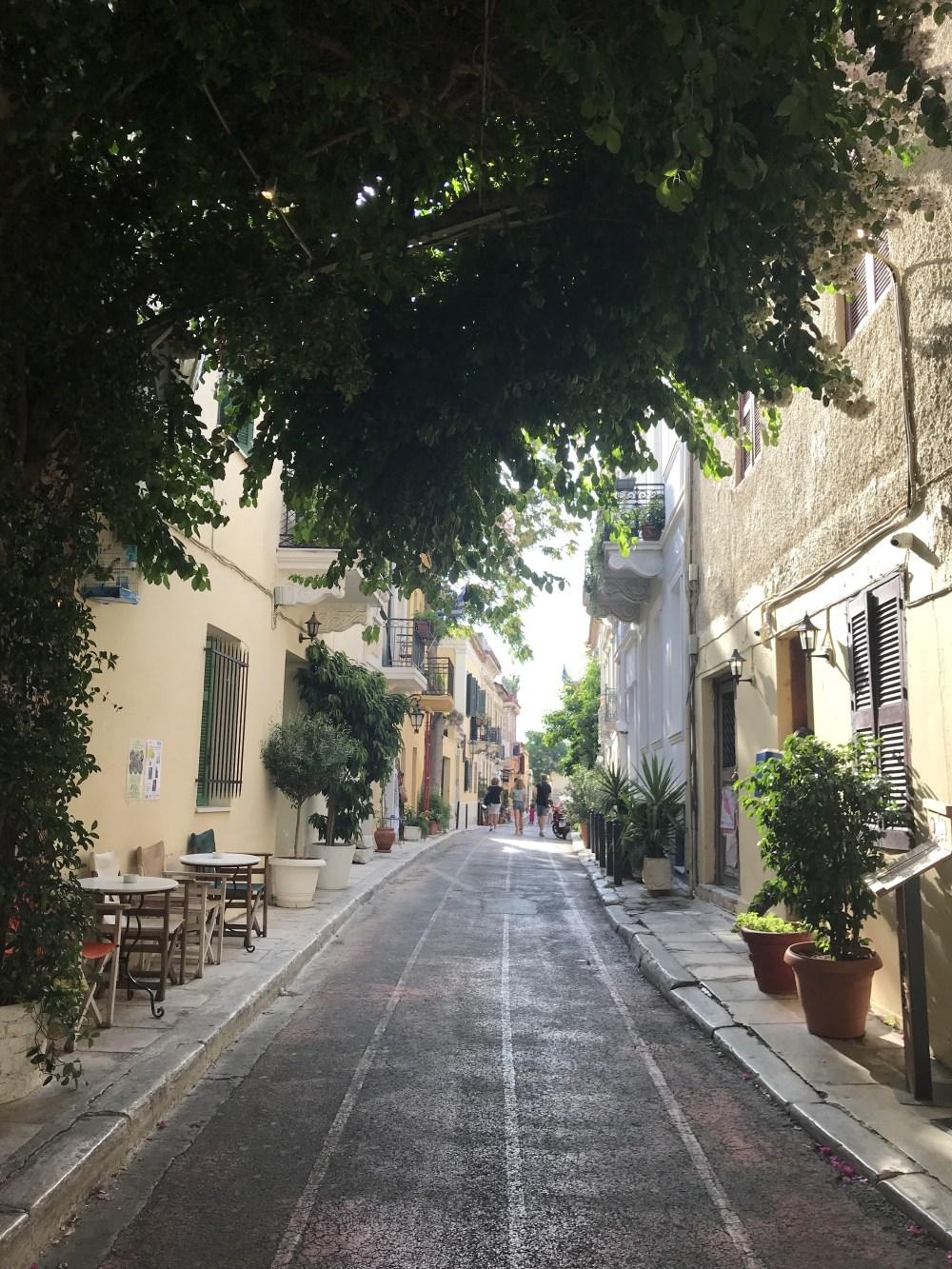 Mais ruas lindas de Atenas