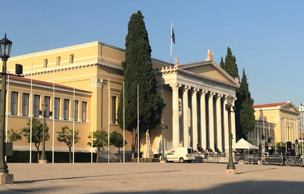 Parlamento antigo de Atenas
