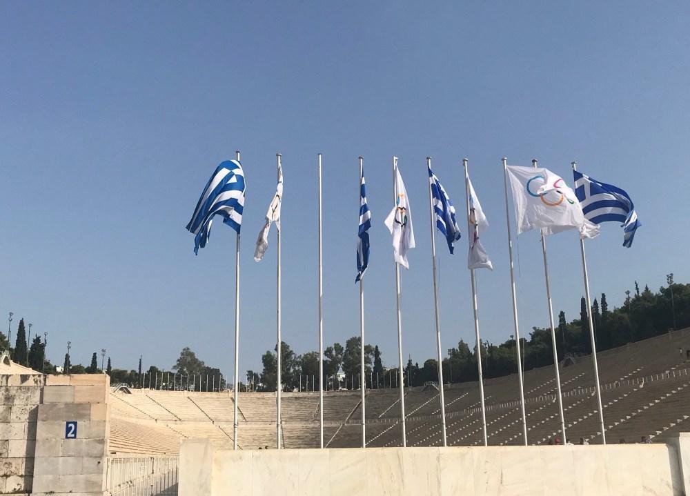 Antigo estádio dos jogos olímpicos, em Atenas