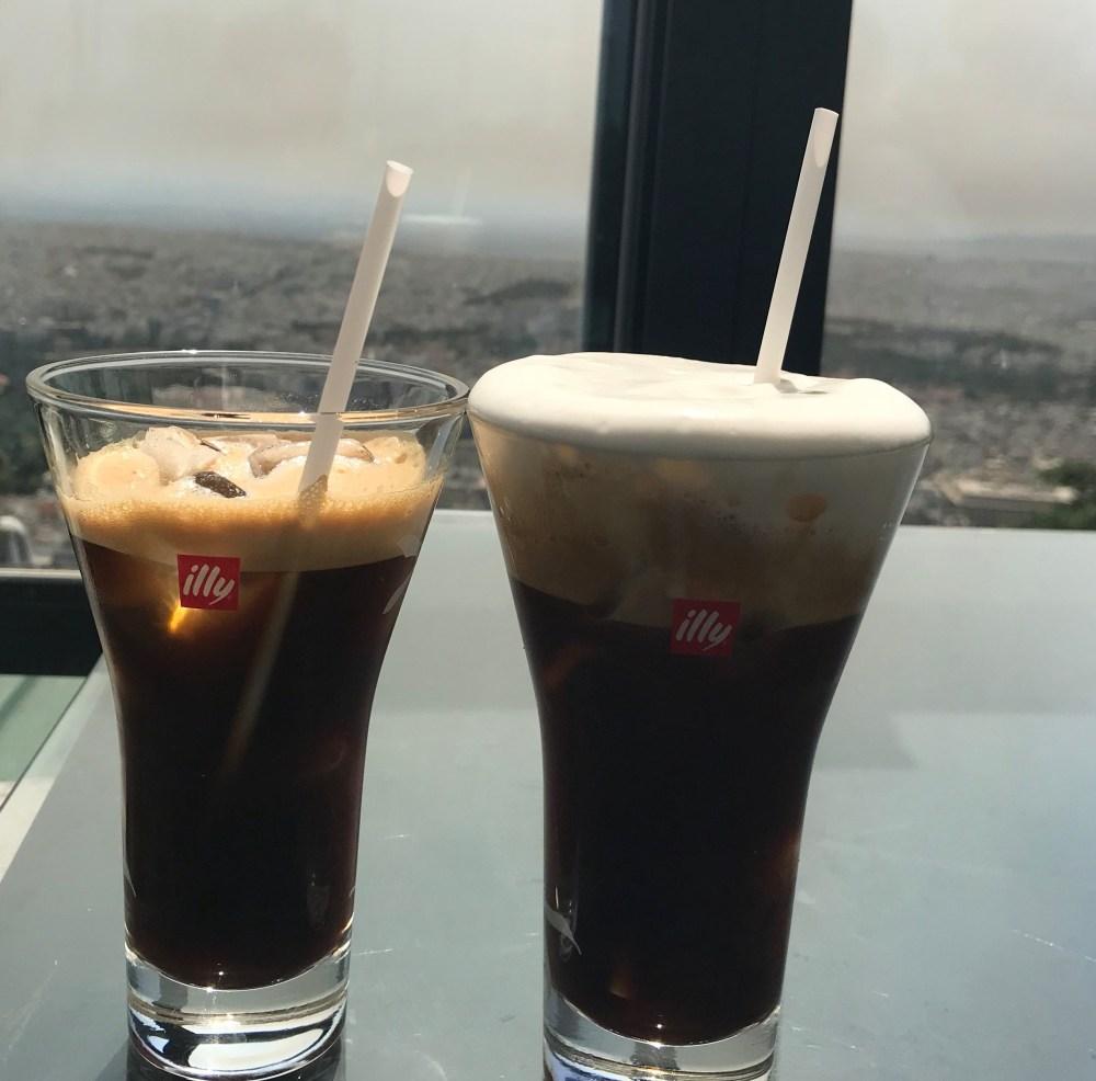 Os famosos cafés gelados