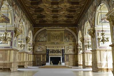Château de Fontainebleau. Fonte: http://www.musee-chateau-fontainebleau.fr