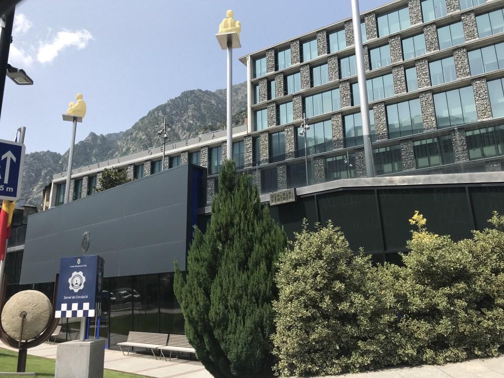 A sede administrativa de Andorra