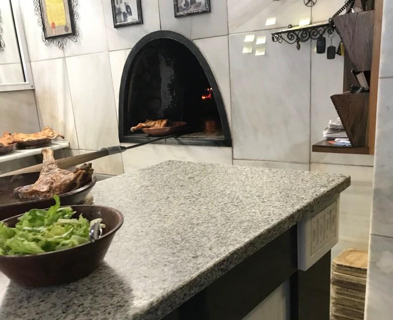A cozinha do restaurante Terete, em Haro, Rioja