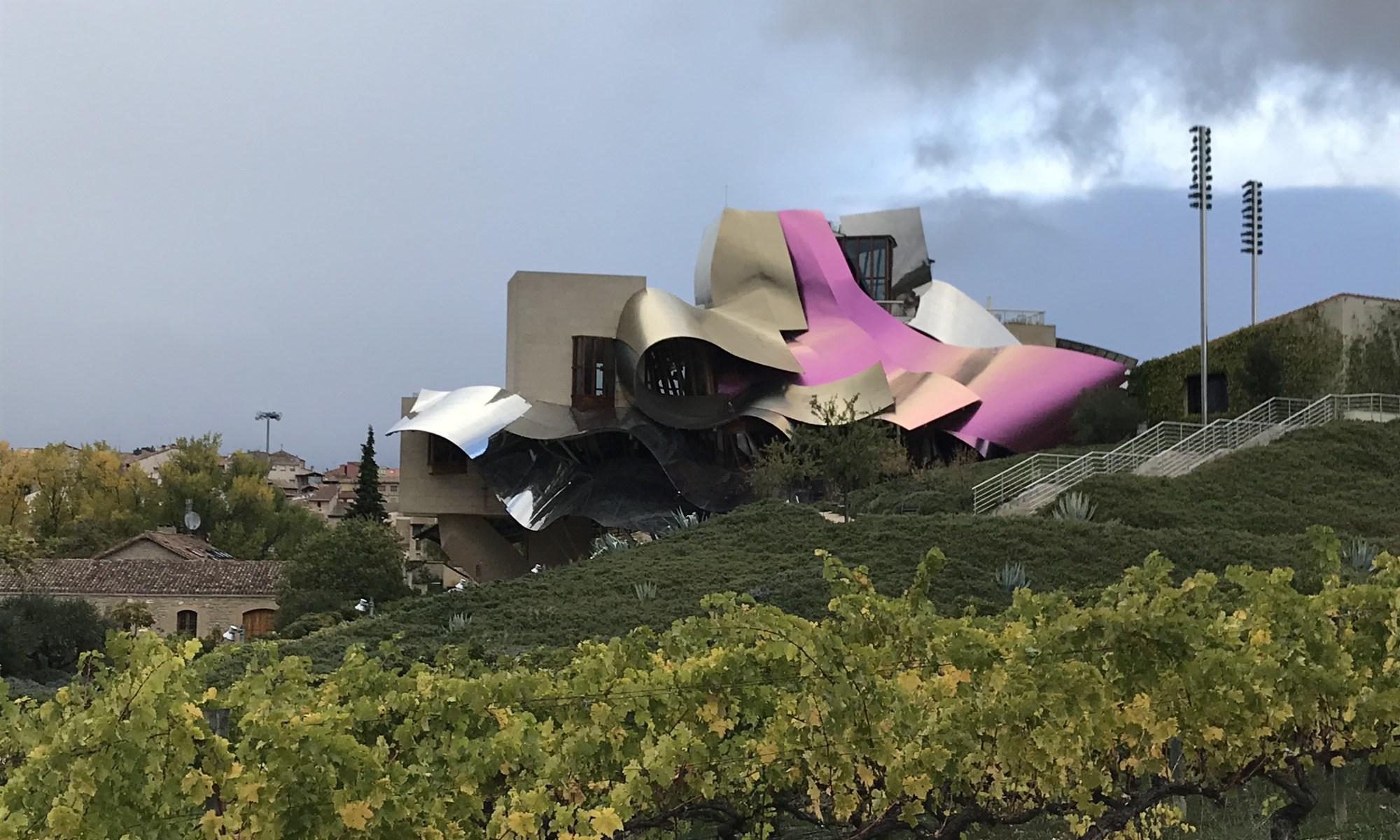 Como amei a arquitetura da Marques de Riscal!
