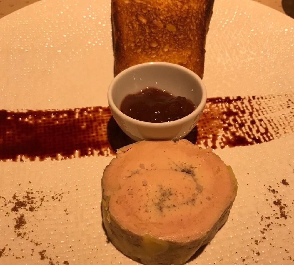 Foie gras du Au Trotthus