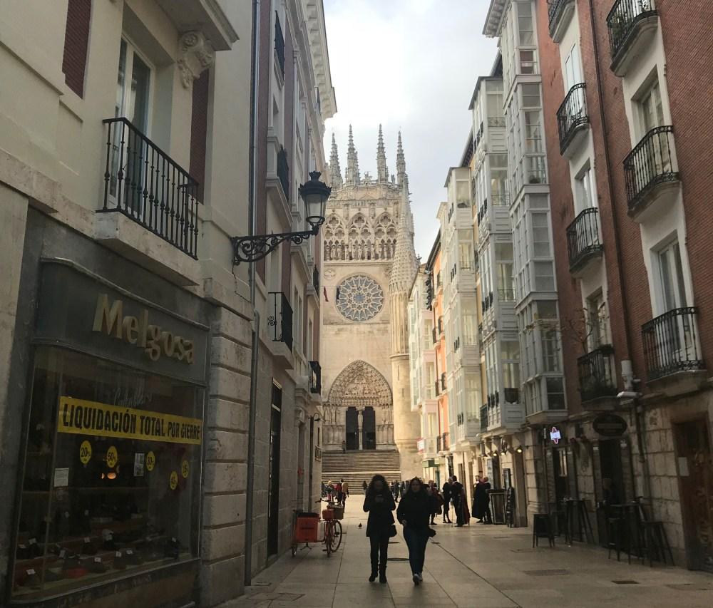 Pelas ruas de Burgos