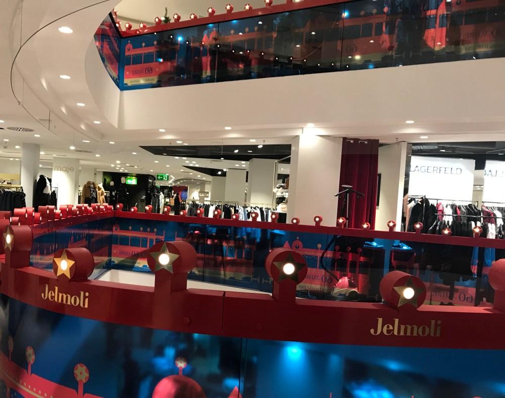 Jelmoli, sofisticada loja de departamento