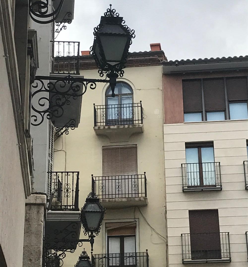 Detalhes das ruas de Teruel