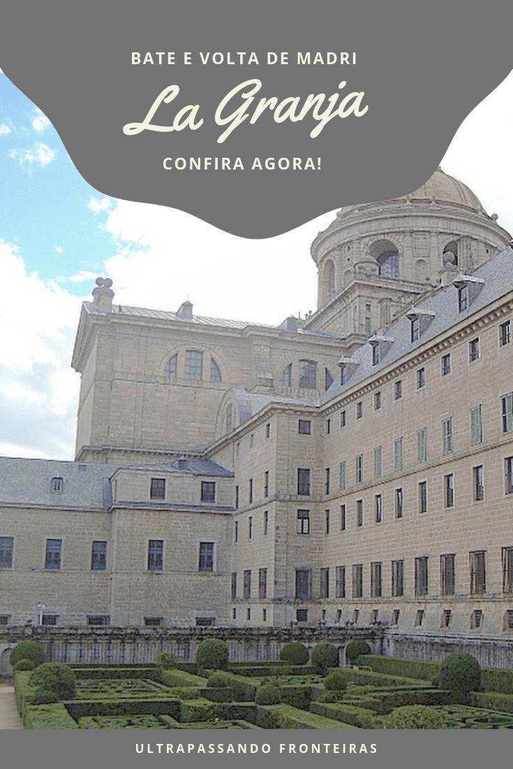 Roteiro no Palácio Real da Granja de San Ildefonso, Espanha