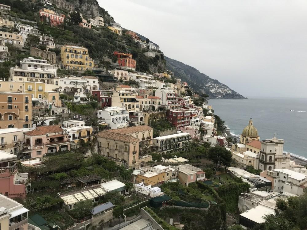 Mirantes de Positano, a mais famosa e badalada da Costa Amalfitana