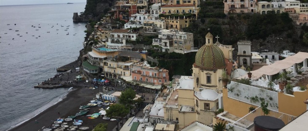 O charme da Costa Amalfitana