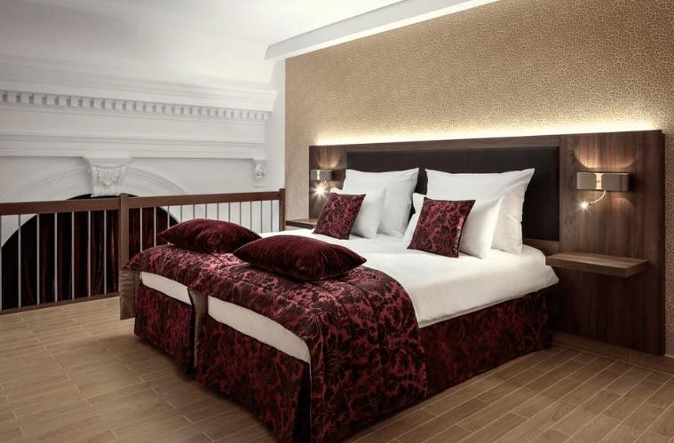 O quarto do Michelangelo Grand Hotel. Fonte: Booking