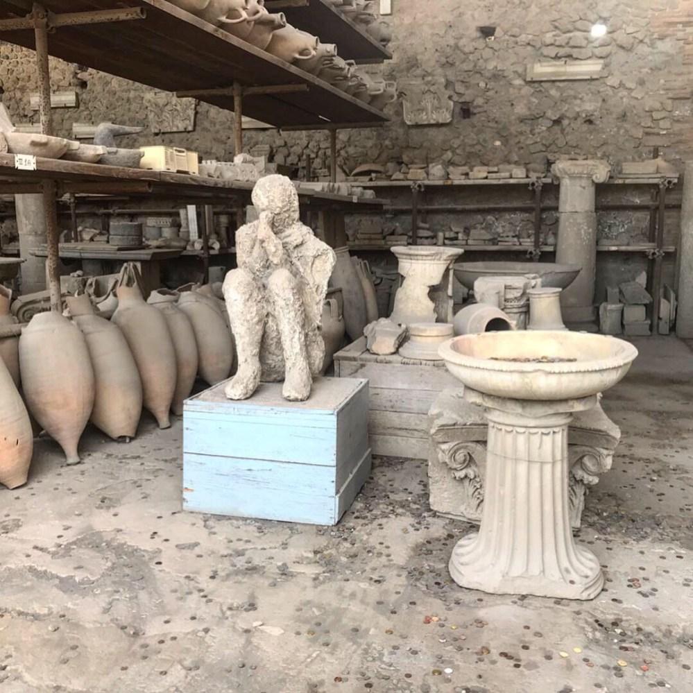 Essa é uma das cenas mais impressionantes de Pompeia