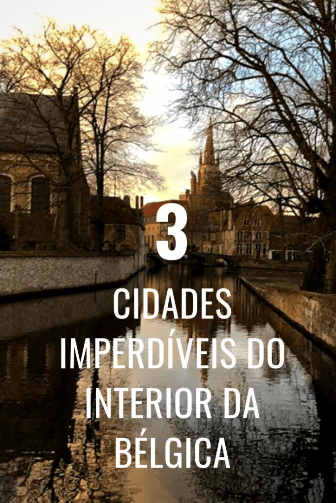 viagem a cidades do interior da Bélgica