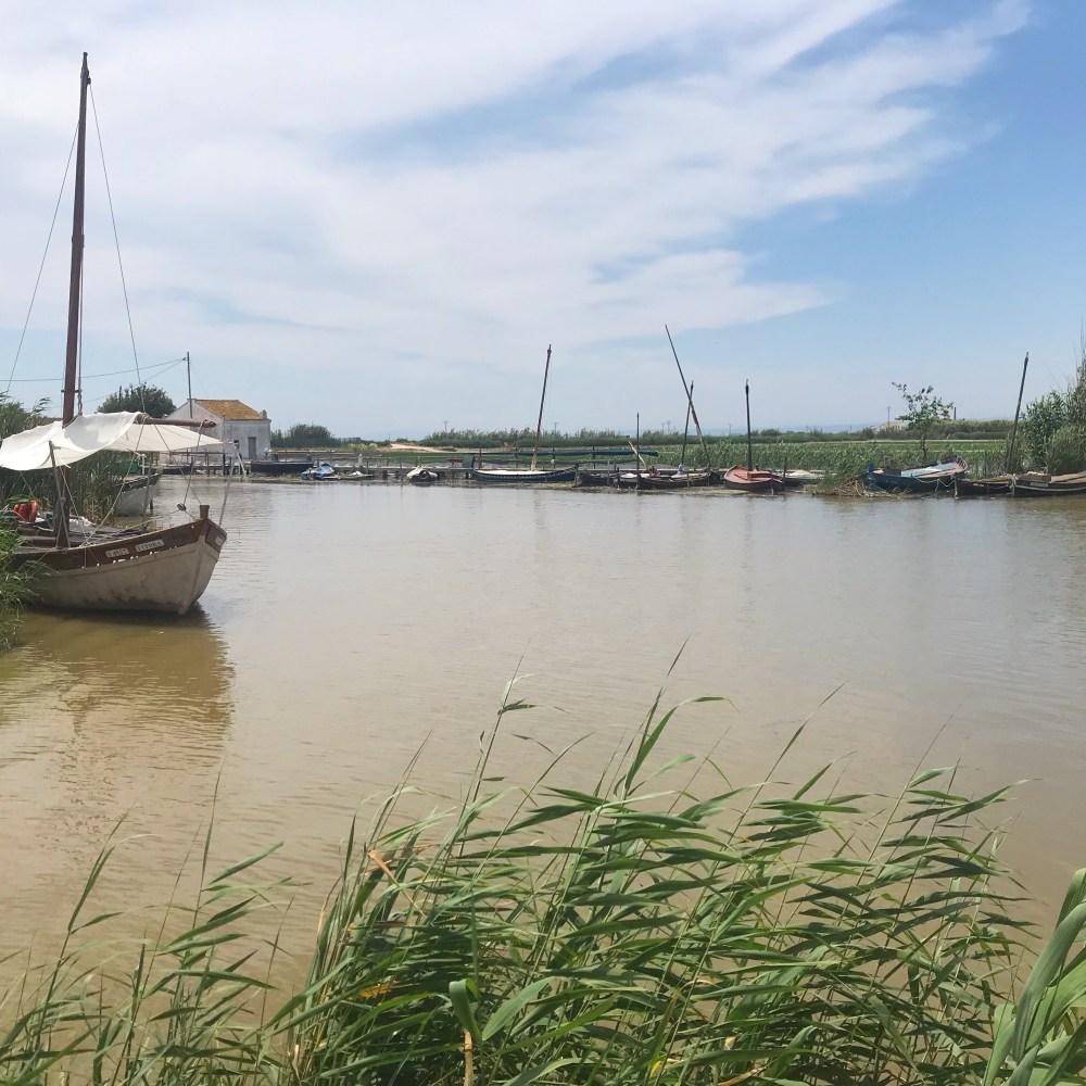 Passeios de barco que saem do restaurante El Rek, em Albufera