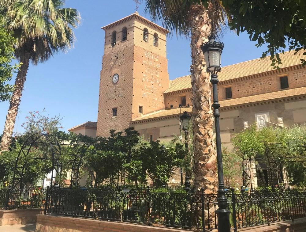 O centro de Tabernas, Almeria