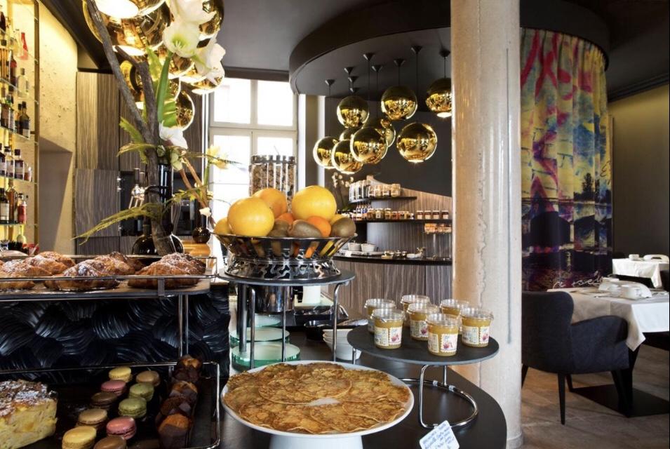 O café do Empreinte Hôtel & SPA | Foto: Booking