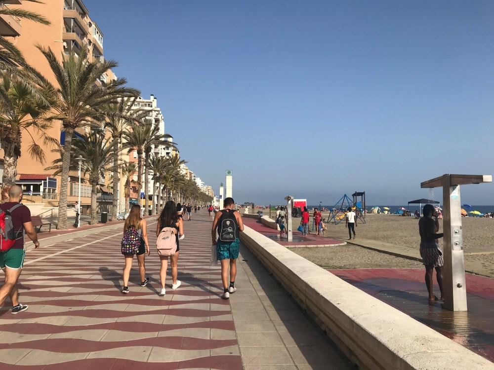 O praião da cidade de Almeria: a melhor opção da região é ir ao Parque Nacional de Cabo de Gata