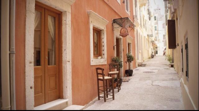 Uma pousada delícia pra ficar em Corfu capital. Foto: Booking