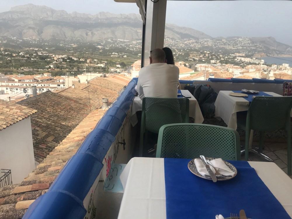 Gostou dessa vista do Cown of India de Altea? Tem mar e montanha!