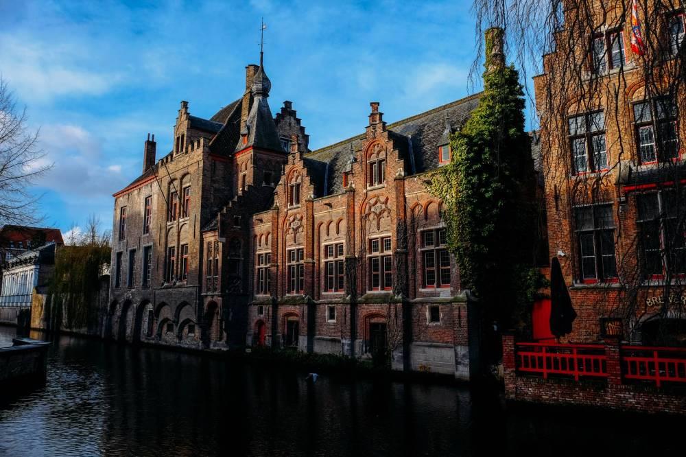 Brugges foi uma das melhores escolhas para viajar na Bélgica de trem