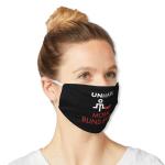 """Mask that says """"Unmask moral blind spots."""""""