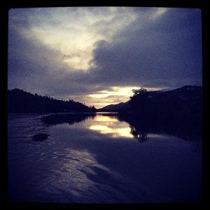 Loch Ness at Dusk, Highlands