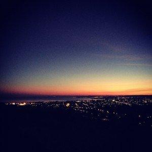 Sleepy Edinburgh at Dawn