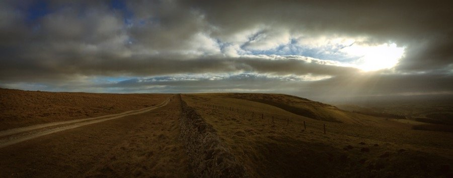 Sun comes out on The Cleveland Way