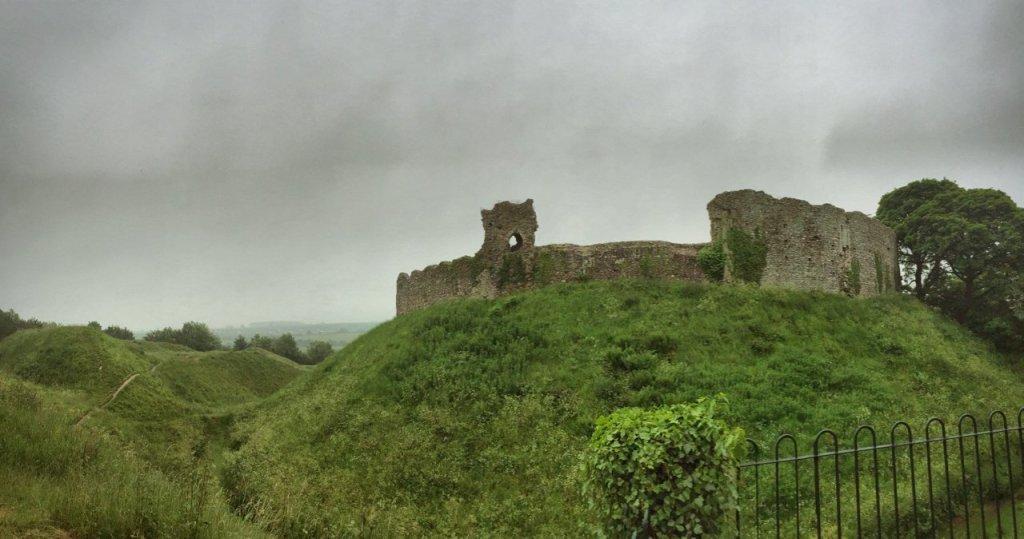View from Race Registration, Castle Acre Castle
