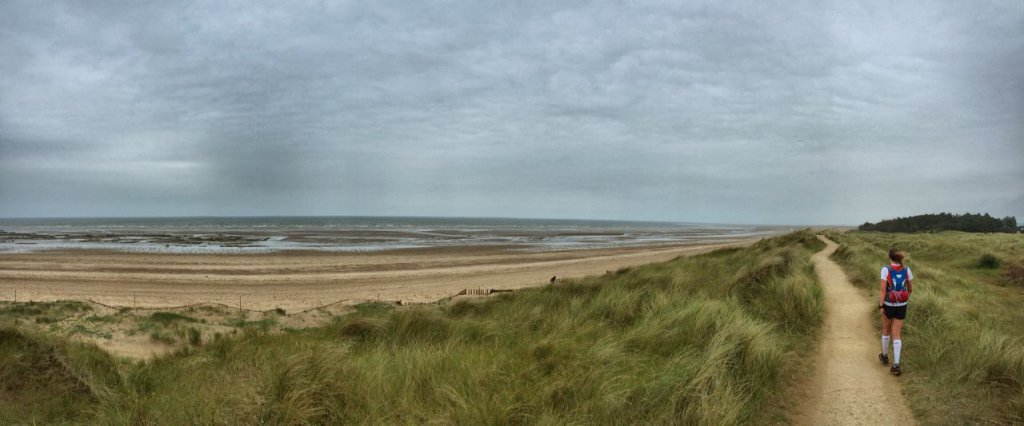 Joining The North Norfolk Coastal Path