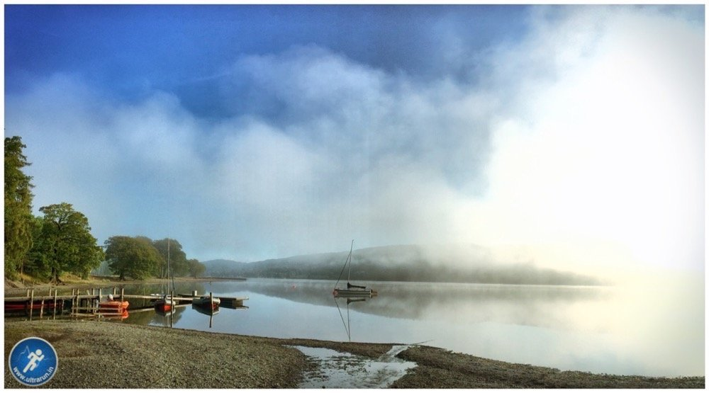 Mist Clearing over Coniston Water