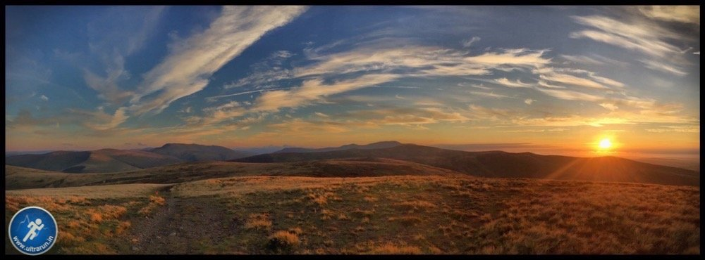 Sunset over the Northern Fells
