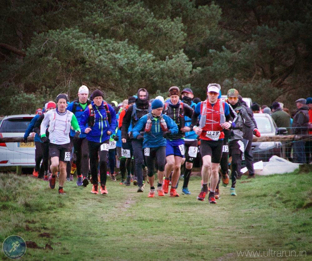 Race Start of Peddars Way Ultra 2016