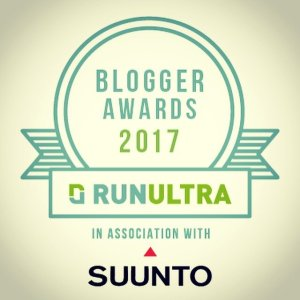 Nomination for RunUltra Blogger of the year 2017