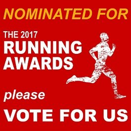 Please vote for me in The 2017 Running Awards