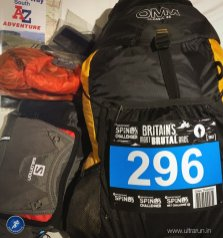 Race kit packed and ready to go!