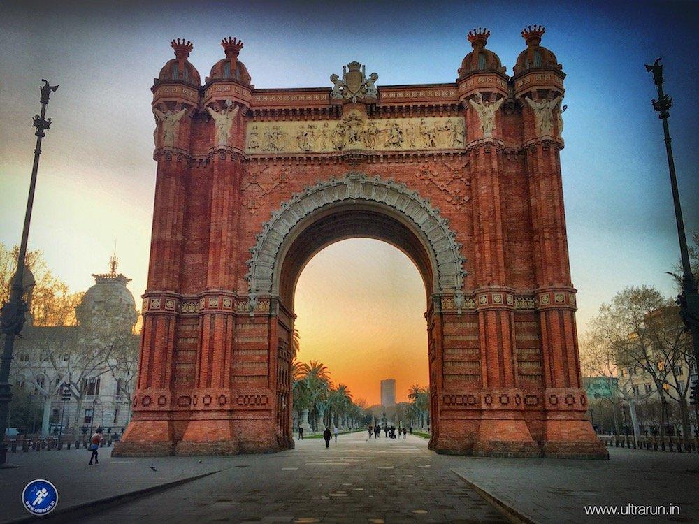 Morning Running Adventure Around Barcelona
