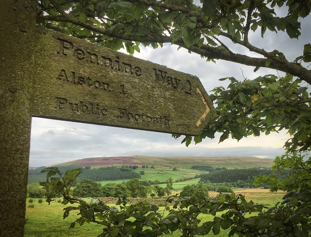 Pennine Way to Alston, Cumbria
