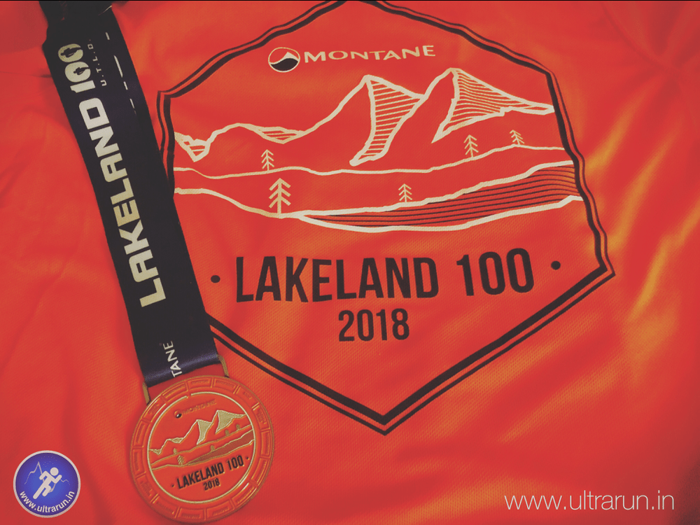 2018 Lakeland 100 Medal and T-Shirt