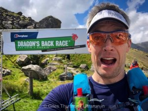 Dragons Back 2019 / Day One: Giles, Getting Ready To Leave The Ogwen Support Point