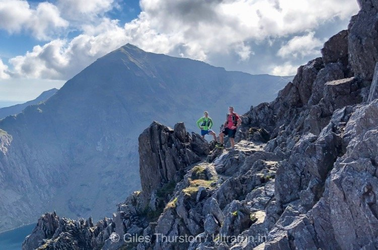 Dragons Back 2019 / Day One: Gethin and Jez on The Crib Goch Traverse with Snowdon Beyond